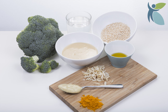 Broccoli mit Amaranth