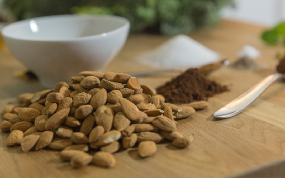 Kakao-Espresso-Mandeln