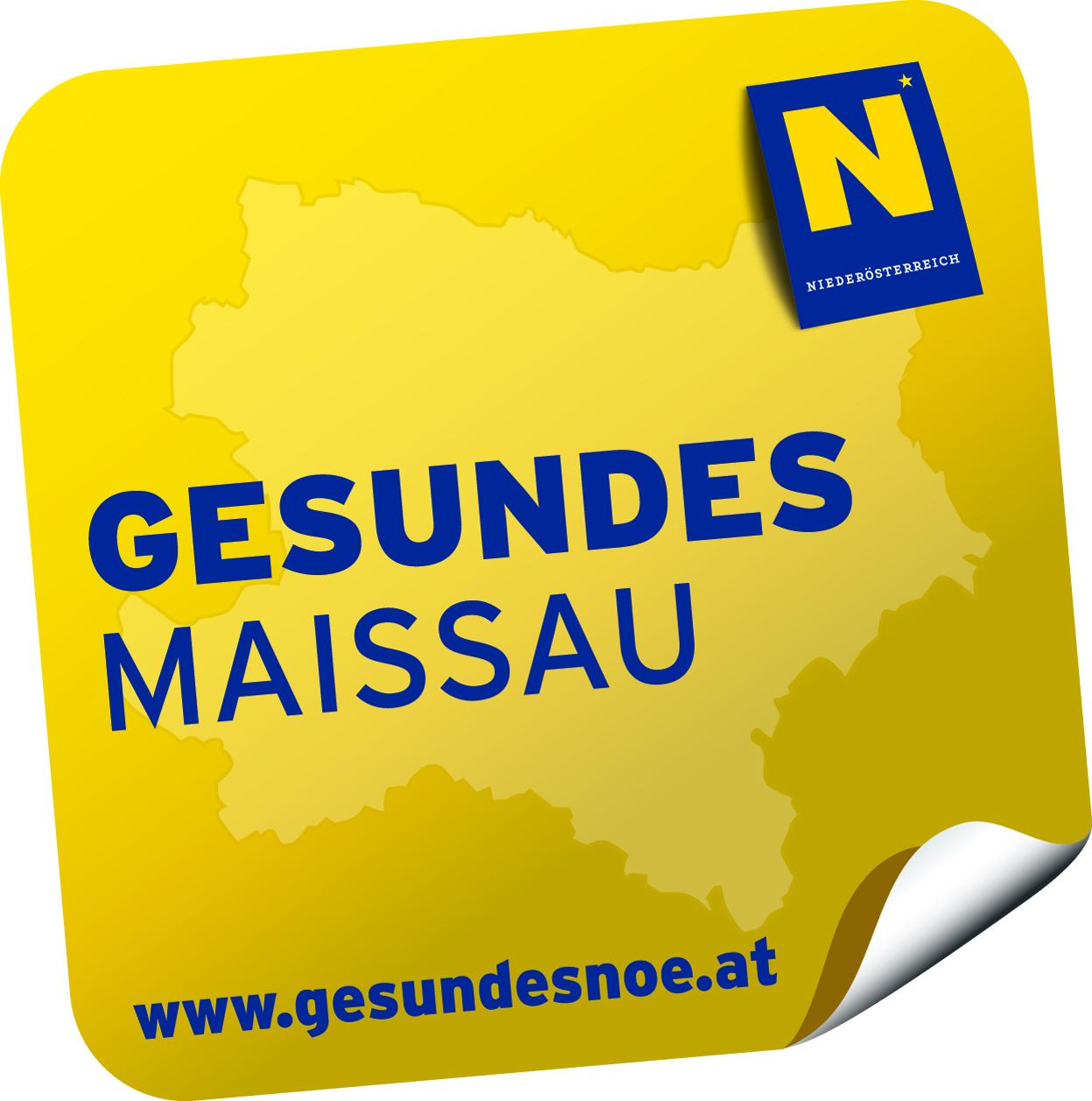 Logo Gesundes Maissau, Niederösterreich